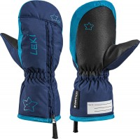 Leki Little Snow Mitt Kinder Fäustel navy-sky