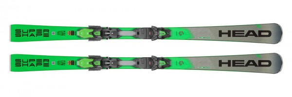 Head Supershape i.Magnum Ski SET SW + PR - - Bild 1