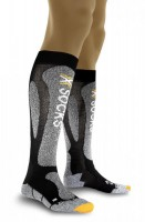 X-Socks Ski Carving Silver Skisocken Black/Grey Moulin¯Â¿