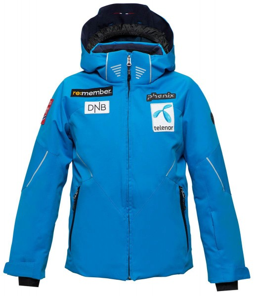 Phenix Norway Team Kids Jacket Blau