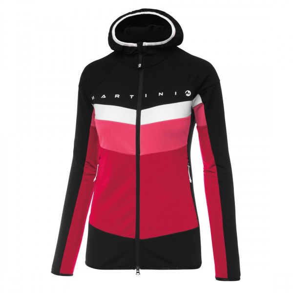 Martini INDEPENDENT Funktionsjacke Damen black/lipstick/coral