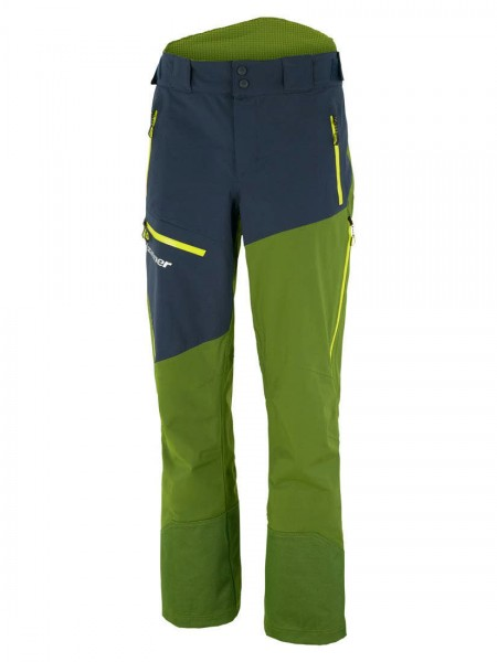 Ziener TABOR VENT-ZIP man Funktionsskihose dark navy.light oliv - Bild 1